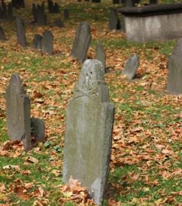 Granary Burying Ground Gravestones