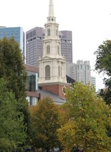 Park Street Church Trees