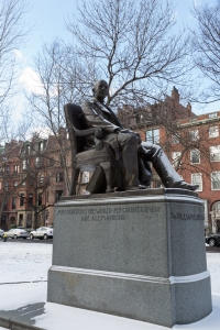 William Lloyd Garrison Statue